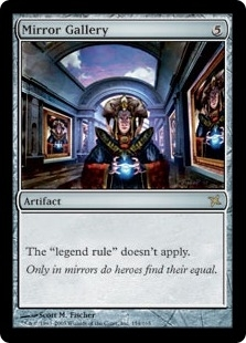 Magic the Gathering Betrayers of Kami Single Mirror Gallery Foil