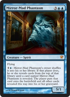 Magic the Gathering Innistrad Single Mirror-Mad Phantasm - NEAR MINT (NM)