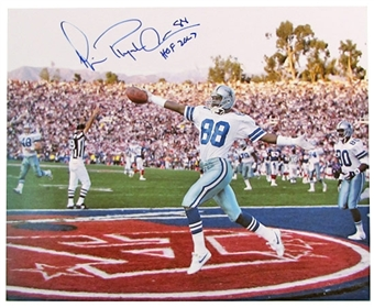 Michael Irvin Autographed Dallas Cowboys 16x20 Photo
