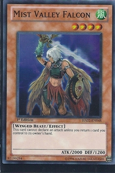 Yu-Gi-Oh Hidden Arsenal 2 Single Mist Valley Falcon 3x Super Rare