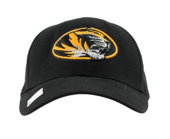 Missouri Tigers Top Of The World Floss Black Adjustable Hat (Adult One Size)