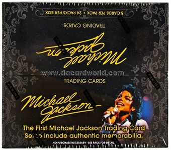 Michael Jackson 2nd Wave 24-Pack Box (Panini 2011)