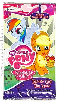 My Little Pony Friendship Is Magic Series 1 Trading Cards Pack (Enterplay 2012)