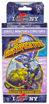 Monsterpocalypse Series 2 I Chomp NY Monster Booster Pack (Privateer Press)