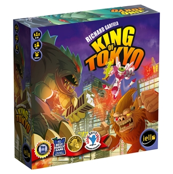 King of Tokyo Board Game by Iello - Regular Price $39.95 !!!