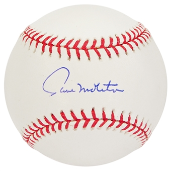 Paul Molitor Autographed MLB Official Baseball