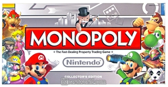 Monopoly: Nintendo Collector's Edition (USAopoly) - Regular Price $39.95 !!!