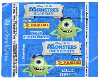 Disney/Pixar Monsters University Sticker Pack (Panini) (Lot of 50)