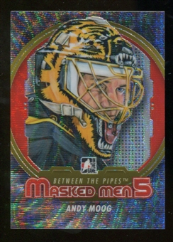 2012/13 In the Game Between The Pipes Masked Men V Silver #MM31 Andy Moog /50