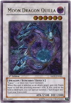 Yu-Gi-Oh Absolute Powerforce Single Moon Dragon Quilla Ultimate Rare