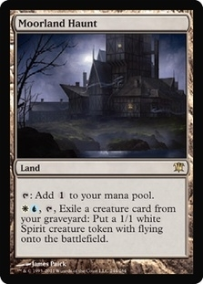 Magic the Gathering Innistrad Single Moorland Haunt - NEAR MINT (NM)
