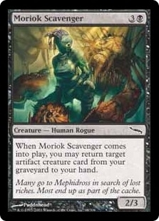 Magic the Gathering Mirrodin Single Moriok Scavenger Foil