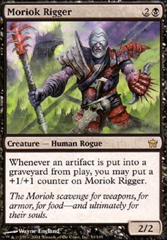 Magic the Gathering Fifth Dawn Single Moriok Rigger - NEAR MINT (NM)