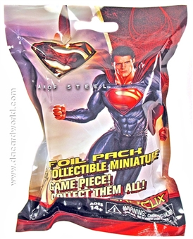 DC HeroClix Man of Steel Single Figure Booster Pack