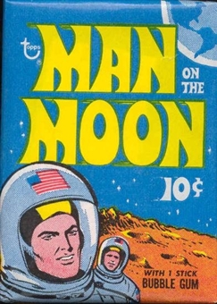 Man on the Moon Wax Pack (1969 Topps)