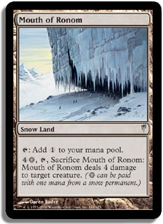 Magic the Gathering Coldsnap Single Mouth of Ronom UNPLAYED (NM/MT)