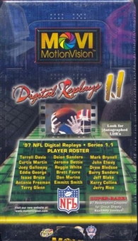1997 Kodak Movi-Vision 1.1 Football Hobby Box