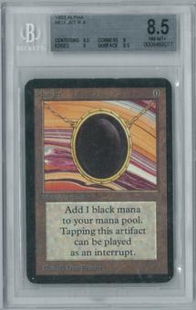 Magic the Gathering Alpha Single Mox Jet BGS 8.5 NM-MT+ (8.5,8,9,8.5)