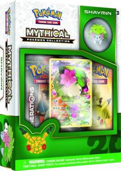 Pokemon: Mythical Pokemon Collection Box (Shaymin) (Presell)