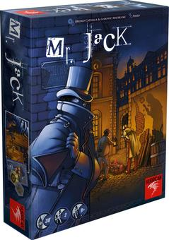 Mr. Jack (Revised Edition) (Asmodee) (Presell)