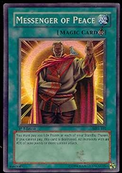 Yu-Gi-Oh Magic Ruler 1st Ed. Single Messenger Of Peace Super Rare (MRL-102)