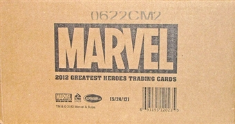 Marvel Greatest Heroes Trading Cards 12-Box Case (Rittenhouse 2012)