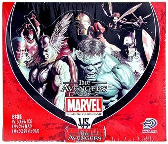 Vs System Marvel Avengers Booster Box - Japanese