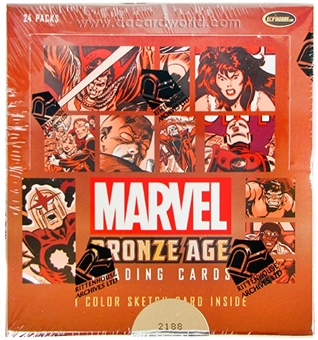 Marvel Bronze Age (1970-1985) Trading Cards Box (Rittenhouse 2012)