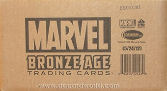 Marvel Bronze Age (1970-1985) Trading Cards 12-Box Case (Rittenhouse 2012)