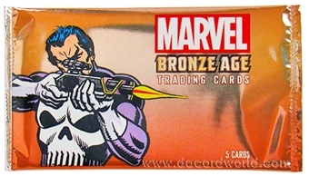 Marvel Bronze Age (1970-1985) Trading Cards Pack (Rittenhouse 2012)