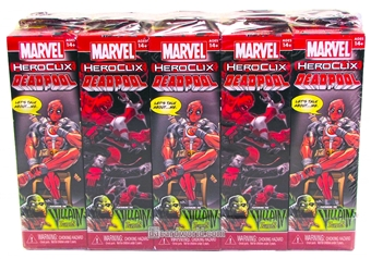 Marvel HeroClix: Deadpool Booster Brick (10ct.)