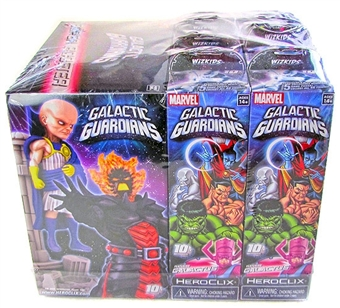 Marvel HeroClix Galactic Guardians Booster Brick (9 Ct)
