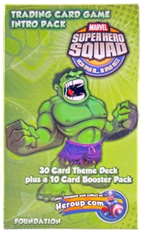 Marvel Super Hero Squad Trading Card Game Single Player Intro Pack (Hulk)