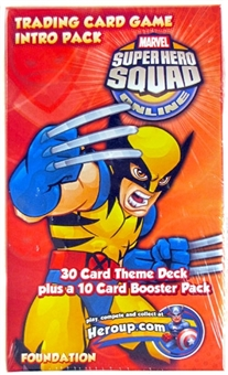 Marvel Super Hero Squad Trading Card Game Single Player Intro Pack (Wolverine)