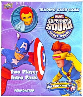 Marvel Super Hero Squad Trading Card Game Two Player Intro Pack (Ironman)