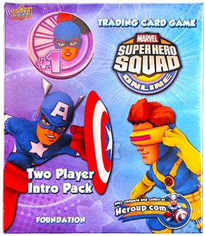 Marvel Super Hero Squad Trading Card Game Two Player Intro Pack (Jean Grey)