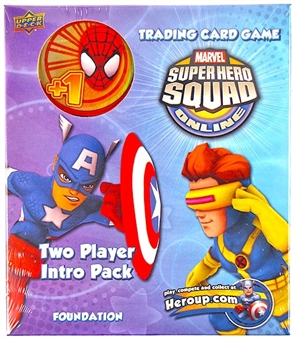 Marvel Super Hero Squad Trading Card Game Two Player Intro Pack (Spiderman)