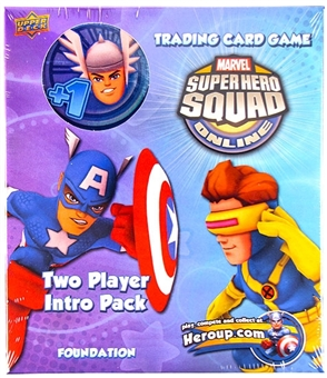 Marvel Super Hero Squad Trading Card Game Two Player Intro Pack (Thor)