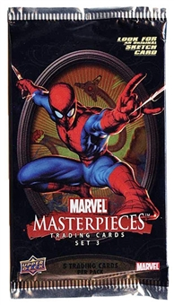 Marvel Masterpieces Series 3 Pack (2008 Upper Deck)