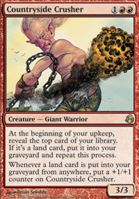 Magic the Gathering Morningtide Singles 4x Countryside Crusher - NEAR MINT (NM)