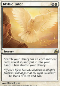 Magic the Gathering Morningtide Single Idyllic Tutor - NEAR MINT (NM)