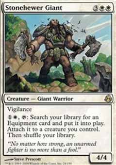Magic the Gathering Morningtide Single Stonehewer Giant UNPLAYED (NM/MT)