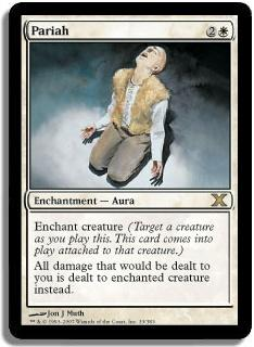 Magic the Gathering 10th Edition Single Pariah - NEAR MINT (NM)