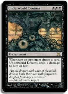 Magic the Gathering 10th Edition Single Underworld Dreams FOIL