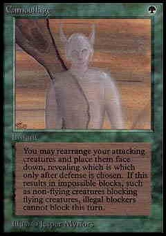 Magic the Gathering Alpha Single Camouflage UNPLAYED (NM/MT)