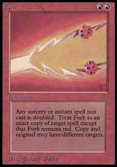 Magic the Gathering Alpha Single Fork UNPLAYED (NM/MT)