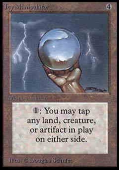 Magic the Gathering Alpha Single Icy Manipulator - NEAR MINT (NM)