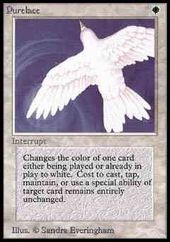 Magic the Gathering Alpha Single Purelace - NEAR MINT (NM)