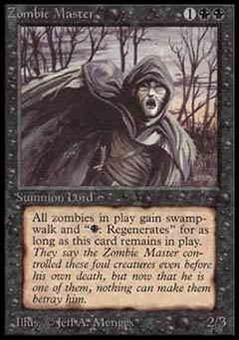 Magic the Gathering Alpha Single Zombie Master - NEAR MINT (NM)