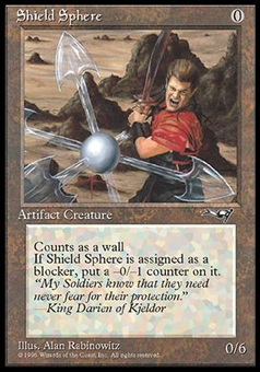 Magic the Gathering Alliances Single Shield Sphere - NEAR MINT (NM)